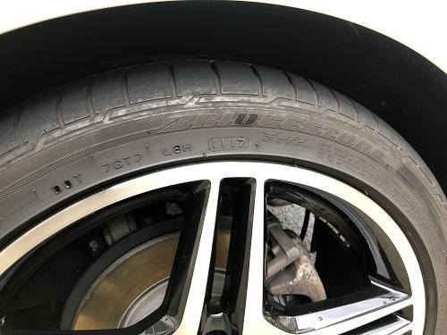 タイヤ タイヤワックス タイヤコーティング ベンツ Aクラス W176 A180
